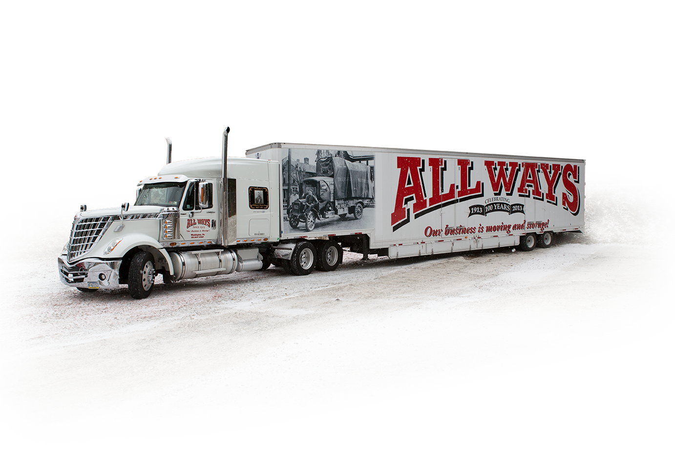 All Ways Moving & Storage Transportation Vehicle