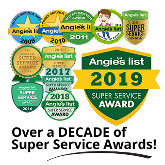 Consecutive Angie's List Super Service Award Winners for Moving since 2009! #angieslist